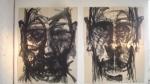 ANDRE ALBUQUERQUE S/ Título 200 x160 cm, acrílica s/ cartão, 2012, R$ 2.000,00 (cada)