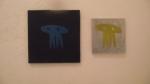 JOÃO TOLOVI, da série caveiras, spray sobre canvas, 30 x 30 cm/ 20 x 20 cm, 2012, R$ 80,00 (cada)