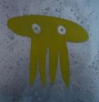JOÃO TOLOVI, da série caveiras, spray sobre canvas, 20 x 20 cm, 2012 R$ 80,00