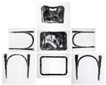 Fábio Leão, Estudo para olhar cadeira (2011), monotipia s/ papel, dimensões variáveis
