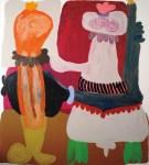 Viviane Teixeira;; Dança do Acasalamento (2012), acrílica s/ tela, 156 x 140 cm