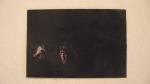 MARCELA THOMÉ,,Preto, acrílica sobre papel de foto, 10 x 15 cm, 2014, R$150,00
