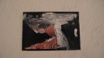 MARCELA THOMÉ, Preto II, acrílica sobre papel de foto, 10 x 15 cm, 2014, R$150,00