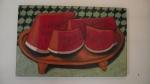 """ROSSANA JARDIM Pedro Alexandrino,aceita melancia?""""60cmx96 cm AST,2014   R$ 2.500"""