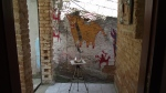 MARINA WOLFF PERIN - DISOSTÁTICA, composição em aço inox , material: sucatas de aço-inox e solda por resistencia elétrica, 14 x 15 x 70 cm, mai/2014, R$ 1.000,00