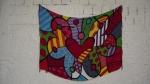 BIANCA ABAD A minha aquisição desse verão, 2013, Canga Romero Britto ®©, 120,0 x 170,0 cm (aprox.),R$50,00