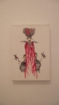 1 - FABIANA ARRUDA  Sem Título, tecnica mista, 45 x 30 cm, 2010