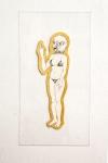 FERNANDA FIGUEIREDO , Monga o Caralho ;desenho; 60 x 32cm; 2006