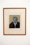 CAIO AMARAL FALCAO, Auto-retrato,  giz  pastel sobre  canson,  45 x 38cm,