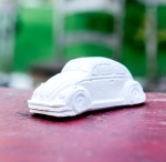 COLETIVO 308, Fusca de Giz,  10,5 x 4,5 x 4 cm, 2013
