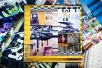 FERNANDO FLAMBART, ST, arte  digital dupla-face, 29 x 29 cm (cada), 2008