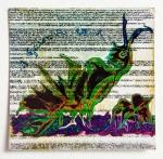 MONIQUE  ALLAIN, arte digital,  32 x 32 cm