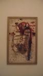 MATHEUS MASSABKI, S/T,  cera de  abelha, goma laca, pastel  oleoso s/ raspa  de  parede, 90 x 53cm, 2016, R$ 500,00