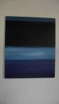 RAFAEL ABOUD  PIOVANI, Da série Homenagem a Rothko - Estudo de cor 9, óleo s/ tela, 100 x 80 cm, 2015, R$ 800,00